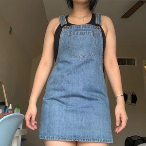 Forever21 Denim Overall Dress